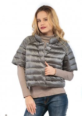 Mila Nova Куртка серая КВ-2