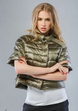 Mila Nova Куртка хаки КВ-2
