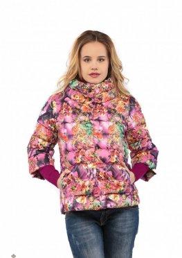 Mila Nova Куртка малина С-10д