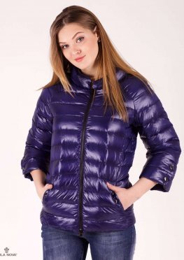 Mila Nova Куртка синяя Обр-30