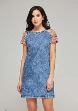 Mila Nova Джинсовое платье Ф-3