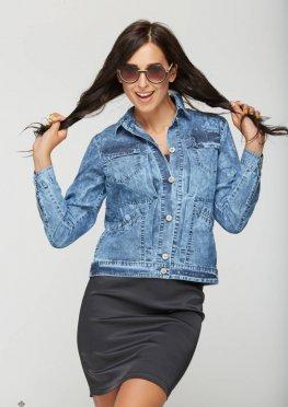 Mila Nova Джинсовая куртка Q-1