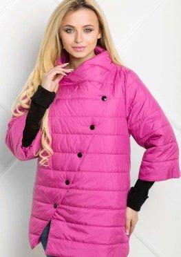 Куртка  темно-розового цвета весна/осень