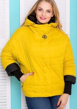 Короткая женская куртка, демисезонная