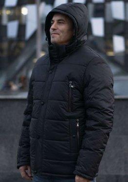 Куртка мужская зимняя в цвете графит