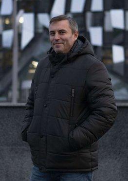 Куртка мужская зимняя в цвете хаки