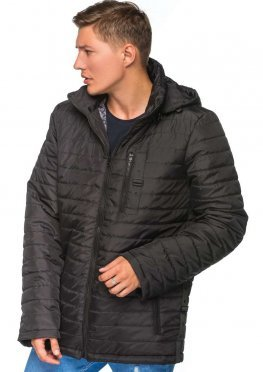 Мужская демисезонная куртка Kariant Итан Черный