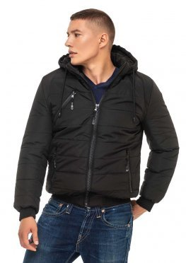 Мужская зимняя куртка Kariant Лев Черный