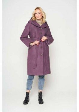 Пальто Лора, зима, bordo