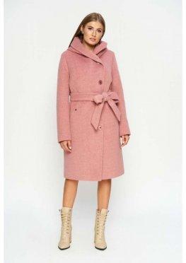 Пальто Варшава, зима, розовый