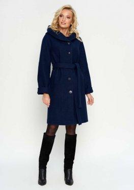 Зимнее пальто Лора, цвет темно-синий