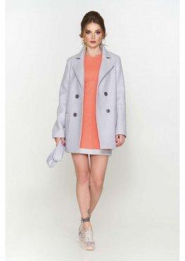 Пиджак Виктория, деми, ш/е, светло - серый 9906