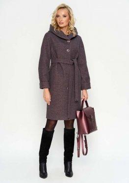 Зимнее пальто Лора, цвет розовый