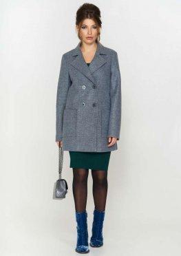 Пиджак Виктория, цвет серо - голубой