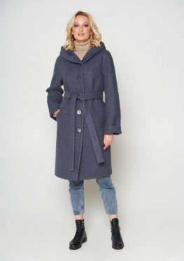 Пальто Лора, цвет темно-серый