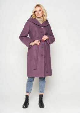Пальто Лора, цвет bordo