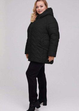 Куртка стеганная женская черная