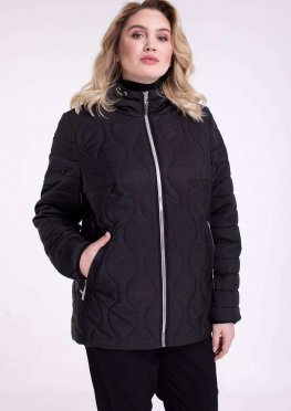 Двухсторонняя куртка демисезонная в размерах 48-68