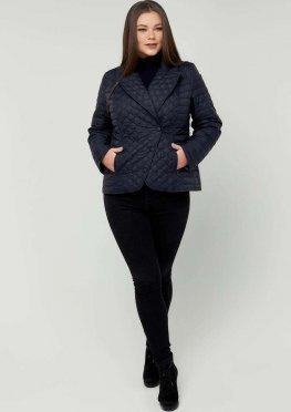 Куртка жакет темно-синий