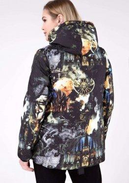 Двухсторонняя куртка демисезонная в размерах 52-68