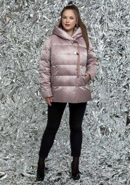 Пуховик женский зимний в размерах 46-58