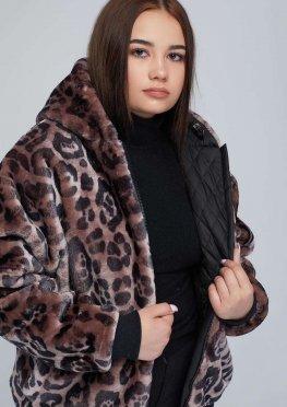Куртка двухсторонняя женская еврозима