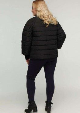 Укороченная демисезонная курточка в размера 48-68