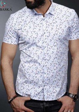 Рубашка мужская короткий рукав 01-64-669