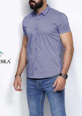 Рубашка мужская короткий рукав 23-65-714