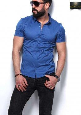 Рубашка мужская короткий рукав 26-07-433