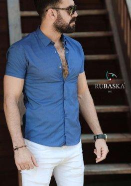 Рубашка мужская короткий рукав 26-11-721