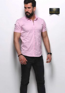 Рубашка мужская короткий рукав 64-07-425