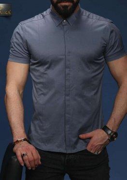Рубашка мужская короткий рукав 71-07-408