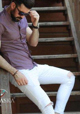 Рубашка мужская короткий рукав 74-11-721