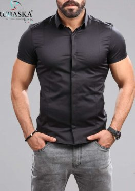 Рубашка мужская короткий рукав 80-07-450