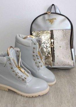 Молодёжные демисезонные ботинки