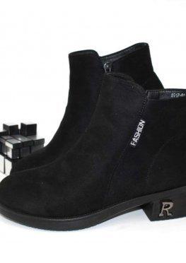 Женские ботинки удобный каблук