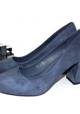 Туфли женские цвет синий