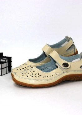 Туфли женские на липучке
