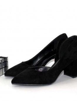 Женские туфли с вырезом
