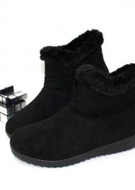 Комфортные замшевые ботинки