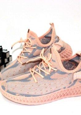Вязаные кроссовки
