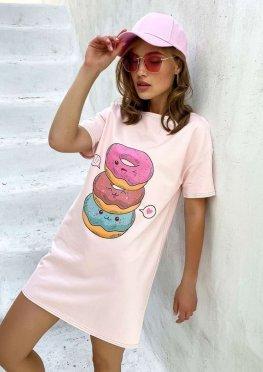 Платье футболка 1743.4705