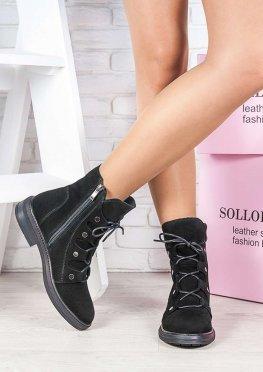 Ботинки замша Николь