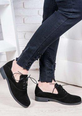 Туфли замшевые Адриана