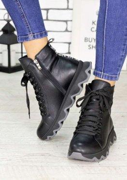 Ботинки кожаные Зефир