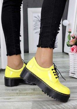 Туфли броги MART!INS желтые