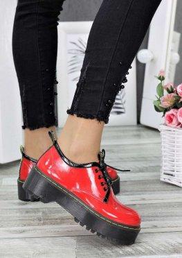 Туфли броги MART!INS красные
