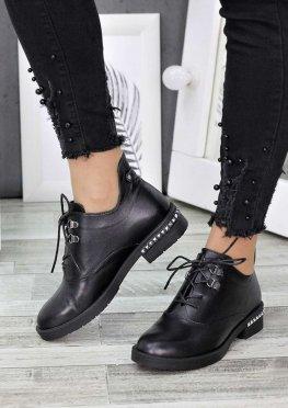 Ботинки кожаные Стефани