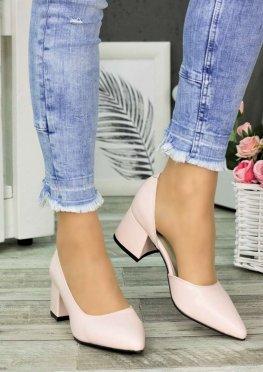 Туфли лодочки на маленьком каблуке